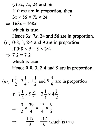 Selina Concise Mathematics Class 7 ICSE Solutions Chapter 6 Ratio and Proportion (Including Sharing in a Ratio) Ex 6B 26
