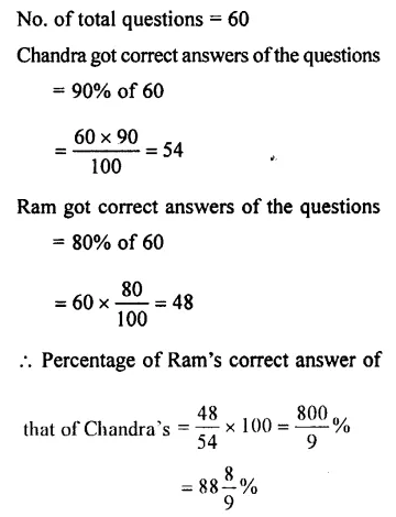 Selina Concise Mathematics Class 7 ICSE Solutions Chapter 8 Percent and Percentage Ex 8B 16