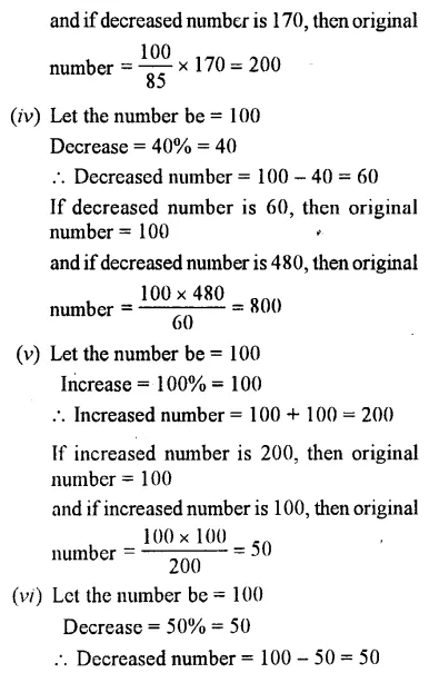 Selina Concise Mathematics Class 7 ICSE Solutions Chapter 8 Percent and Percentage Ex 8C 32