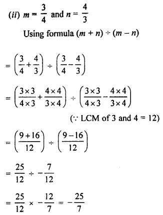Selina Concise Mathematics Class 8 ICSE Solutions Chapter 1 Rational Numbers EX 1D 110