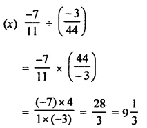 Selina Concise Mathematics Class 8 ICSE Solutions Chapter 1 Rational Numbers EX 1D 95