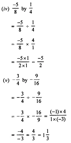 Selina Concise Mathematics Class 8 ICSE Solutions Chapter 1 Rational Numbers EX 1D 98