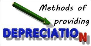 Methods of Calculating Depreciation Amount