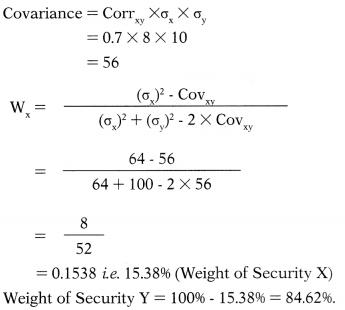 Security Analysis and Portfolio Management – Financial Management MCQ 29