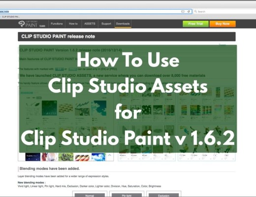 How to use Clip Studio Assets