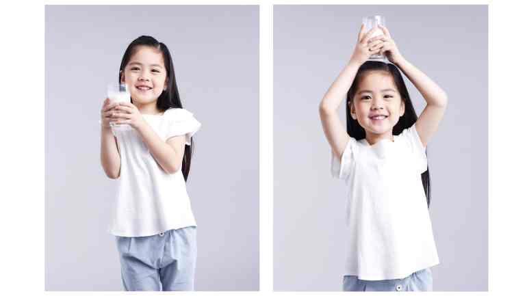 小孩子喝鮮奶補鈣