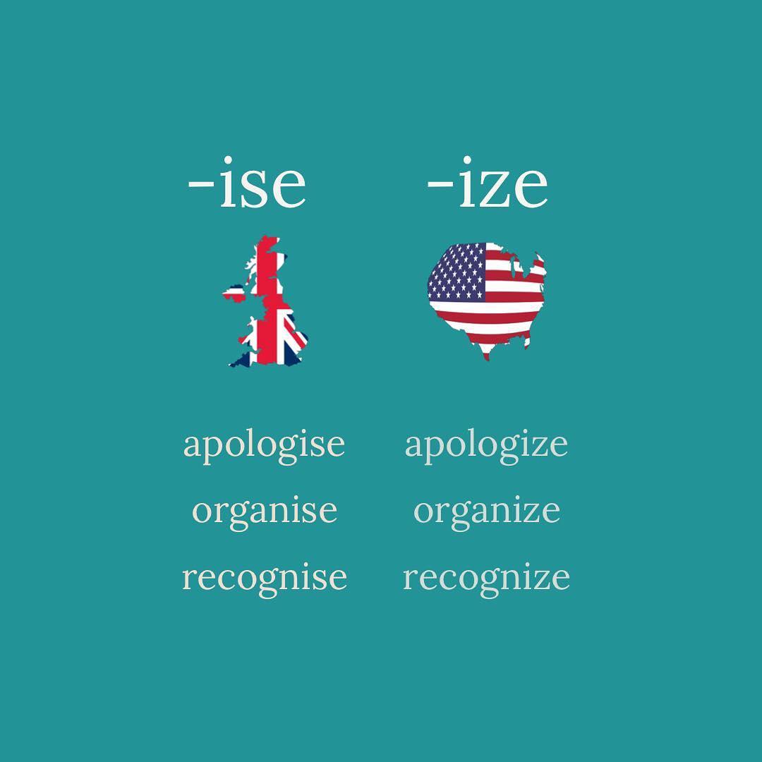 British English Vs American English Differences