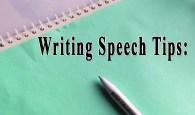 Top Ways to Write a Great speech
