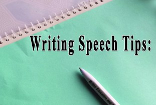 Top Tips to Write a Good Speech or Presentation