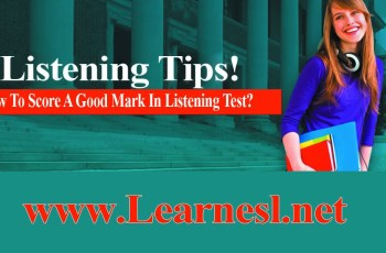 How To Take Listening Test