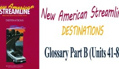 New American Streamline Destinations Glossary Part B