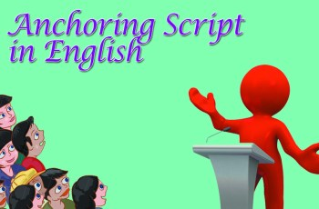 Anchoring Script in English