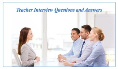 English Teacher Interview Questions and Answers