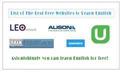 List of The Best Free Websites to Learn English