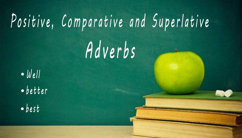 Positive Comparative And Superlative Adverbs Learn Esl