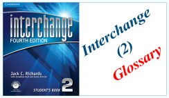 Interchange 2 Glossary