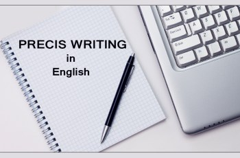 What is Precis Writing in English?
