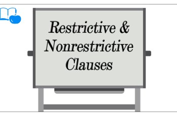 Worksheets Adjective Noun And Adverb Clauses Worksheet adverb clause of contrast concession learn esl difference between restrictive and nonrestrictive adjective clauses