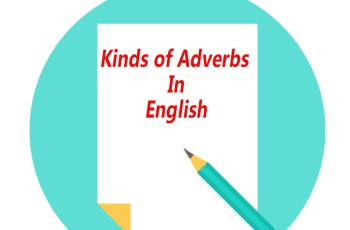 Kinds of Adverbs in English