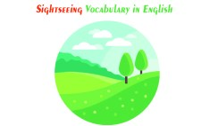 Sightseeing Vocabulary in English