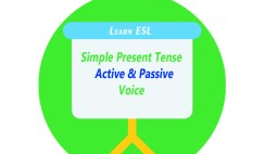 Active and Passive Voice of Simple Present Tense