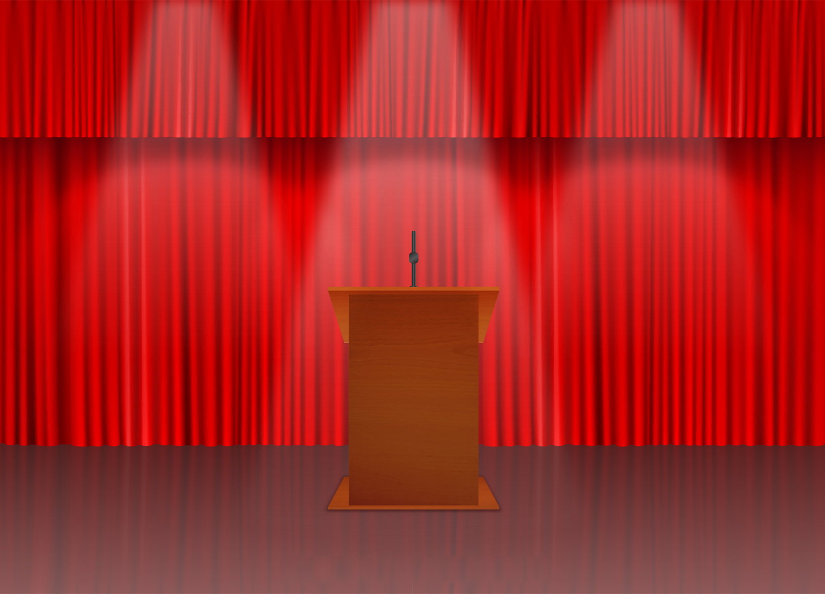how to invite principal on stage for speech