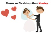 Phrases and Vocabulary About Marriage
