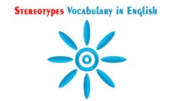 Stereotypes Vocabulary in English