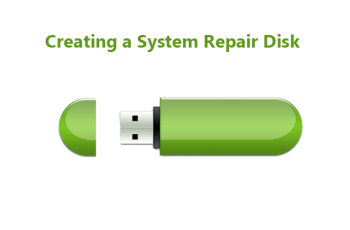 Creating a System Repair Disk in Windows 10