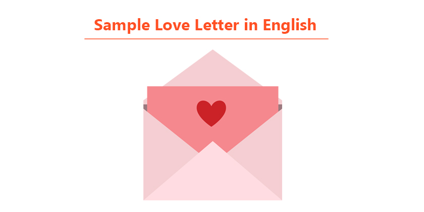 Love Letter Sample in English