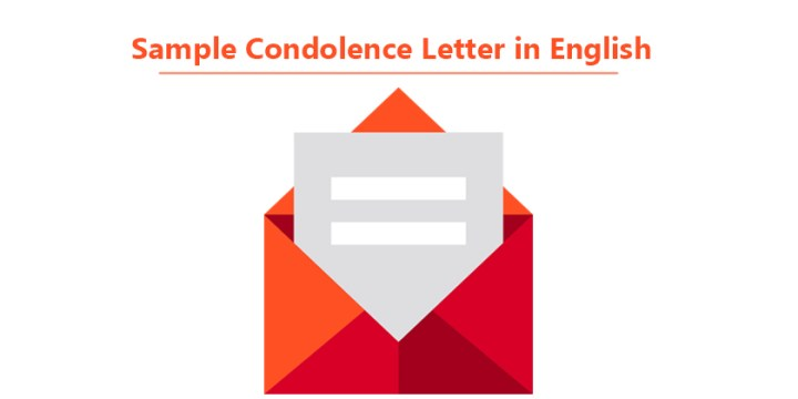 Sample Condolence Letter in English