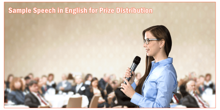 Sample Speech in English for Prize Distribution