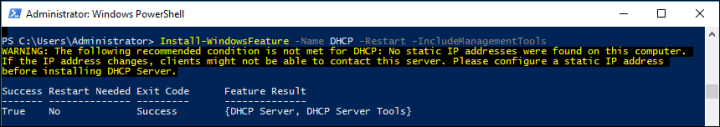 How Install Configure DHCP Server windows Server 2016?