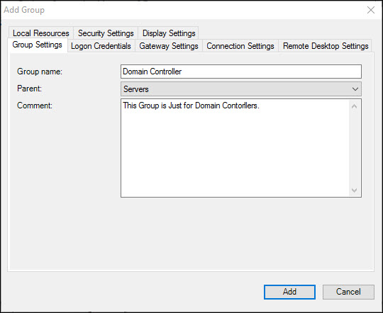 Using Remote Desktop Connection Manager (RDC Man)