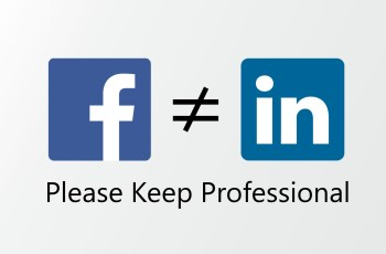 Stop People Posting Personal stuff on LinkedIn