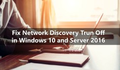 Network Discovery keeps turning itself back OFF