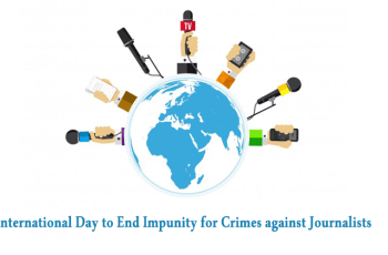 Anchoring Script about International Day to End Impunity for Crimes against Journalists