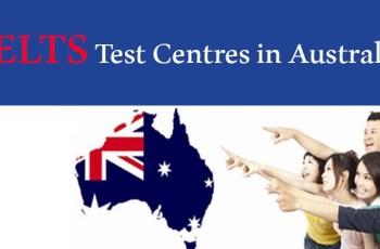 IELTS Test Centres in Australia