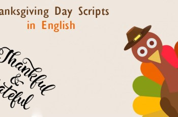 Thanksgiving Day Scripts