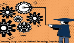 Comparing Script for the National Technology Day-May 11
