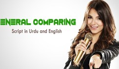 General Comparing Script in Urdu and English