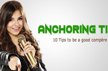 How to Be a Good Anchor or Compère