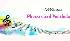 English Vocabulary And Phrases Relating to Music and Arts