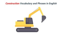 English Words for Construction and Work