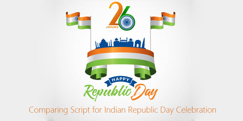 Comparing Script for Indian Republic Day Celebration