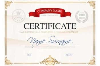 Course Completion Certificate Script & Sample