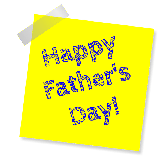 Anchoring script for father's day in English
