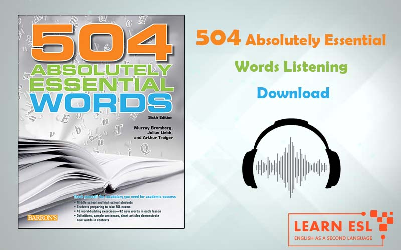 504 Absolutely Essential Words Listening Download