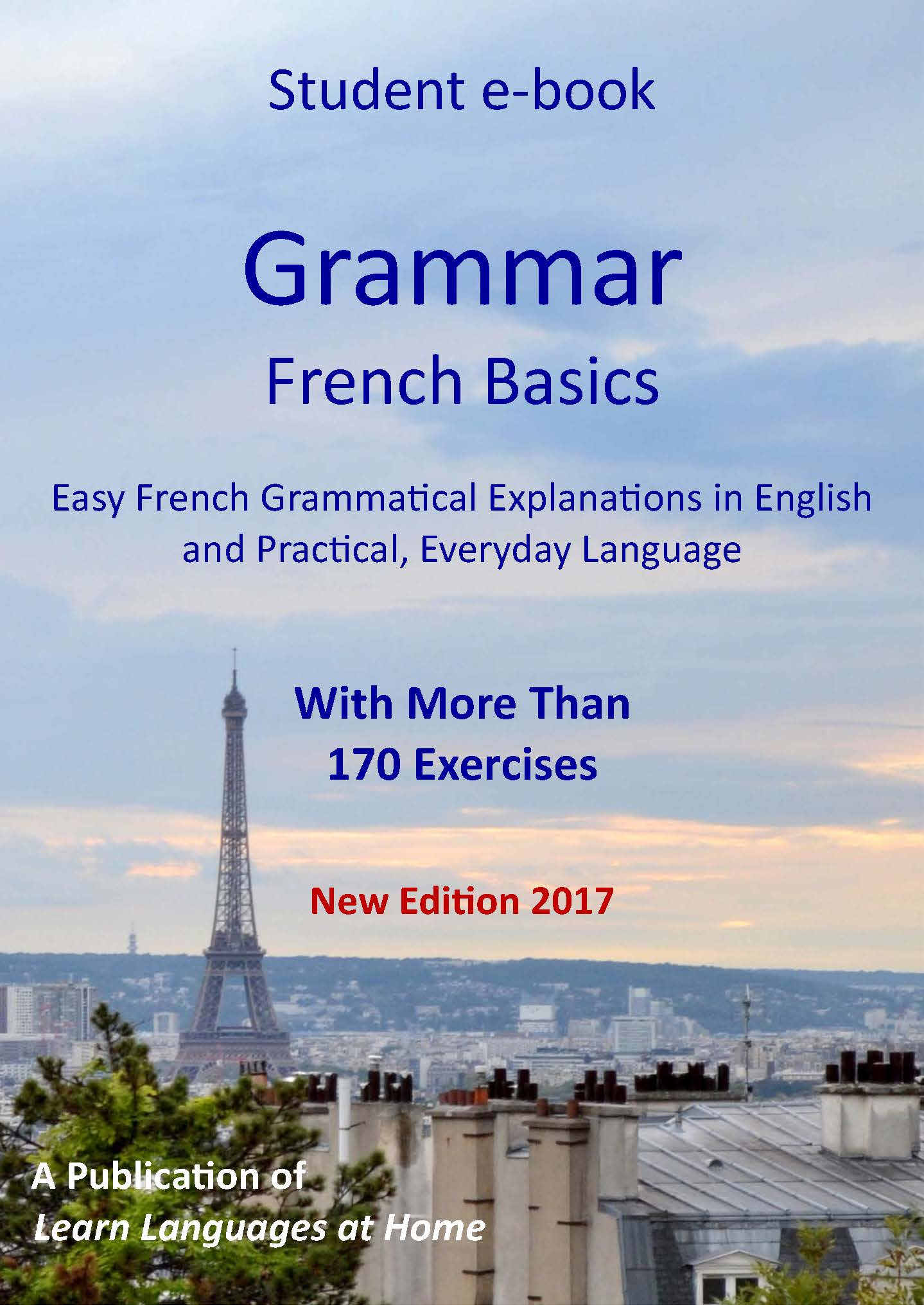 French Grammar Explanation Ebook With Exercises