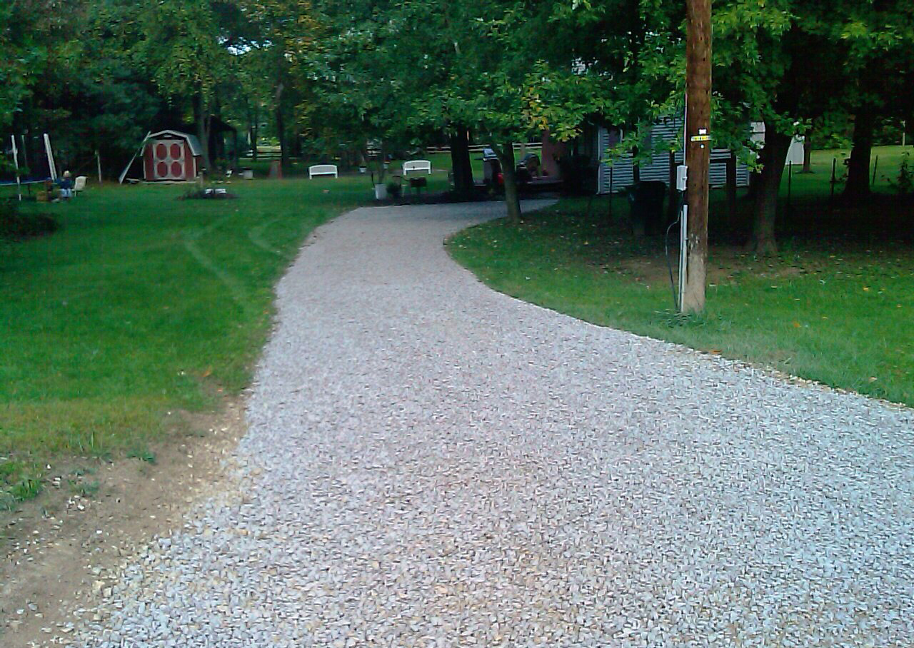 How To Lay A New Gravel Driveway On Clay Soil Learn How To